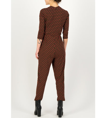 Blutsgeschwister Jumpsuit Cache Un Coussin Ruby Red