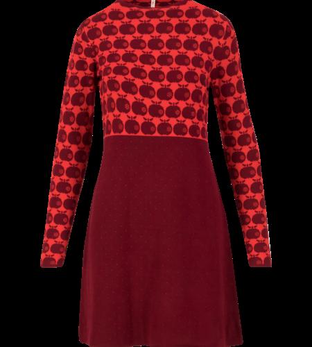 Blutsgeschwister Stricklizzi Dress Knit Red Apple