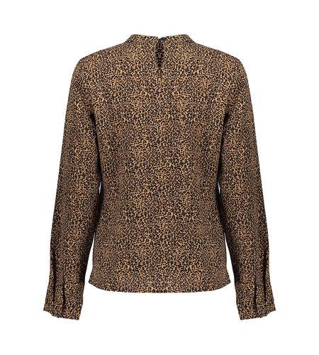 Geisha Top Raglan Sleeve Inserts 13511-10 Camel Black
