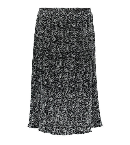 Geisha Skirt 16597-20 Grey Black Combi