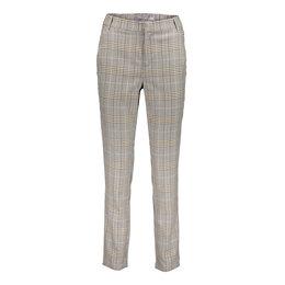 Geisha Check Pants Hihg Waist 11593-24