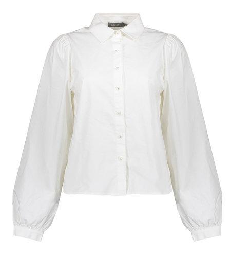 Geisha Blouse 13505-10 White