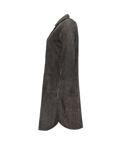 Geisha Dress Babycord 17501-10 Anthracite