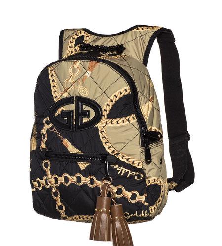 Goldbergh Ornament Backpack Chain Gold