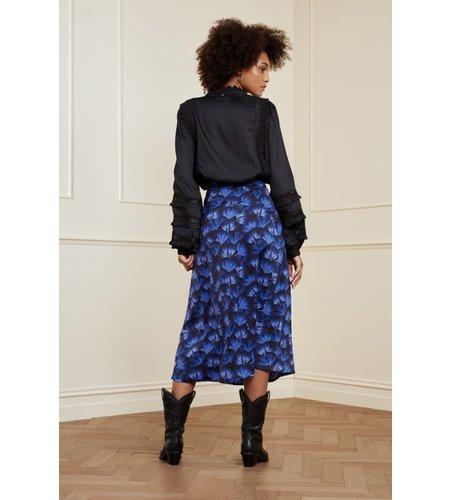 Fabienne Chapot Claire Skirt Black Cobalt
