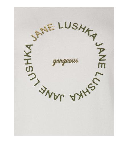 Jane Lushka Organic T Shirt 1 White