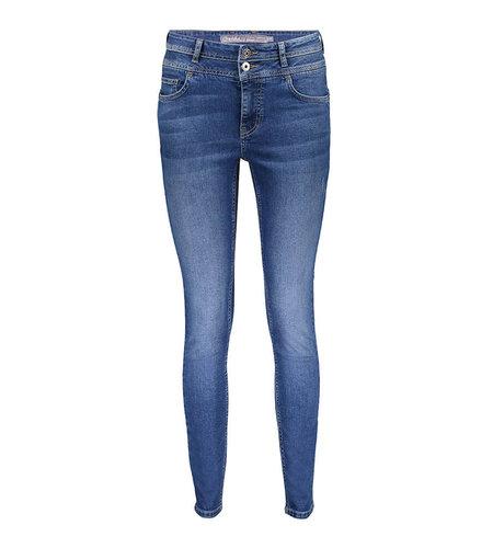 Geisha Jeans Double Waistband 11887-50 Blue Denim