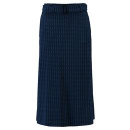 Tante Betsy Belt Skirt Pinstripe
