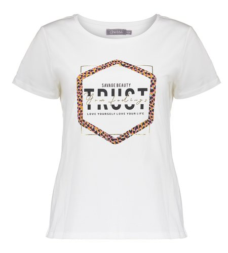 Geisha T-Shirt TRUST 12866-25 Off White