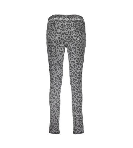Geisha Pants Print Drawstring 11506-10 Grey Black