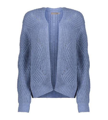 Geisha Vest Ajour 14843-29 Blue