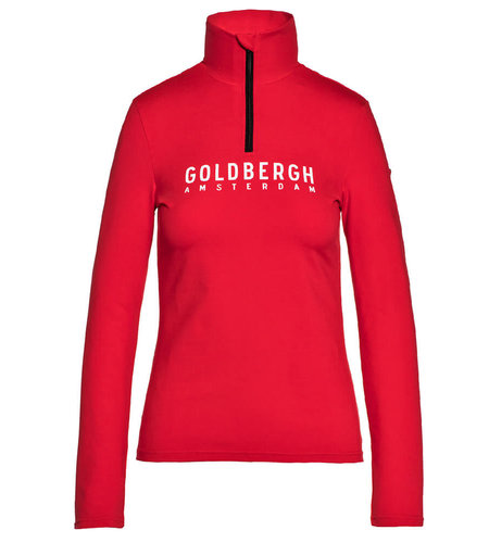 Goldbergh Mandy Ski Pully Ruby Red