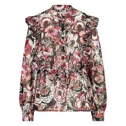 Studio Anneloes Dieke crepe flower blouse