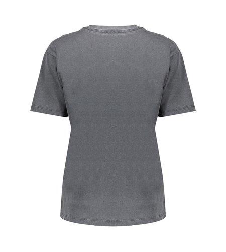 Geisha T-Shirt Palm Springs 12826-30 Antrhacite Coral