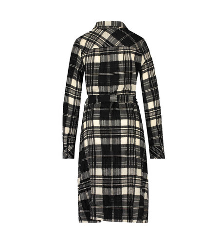 Jane Lushka Dress Lana Short Black White