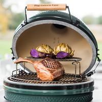 thumb-Houtskoolbarbecue BGE Large-2