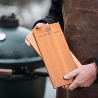 thumb-Wooden Grilling Planks Ceder 28cm /2 BGE-1