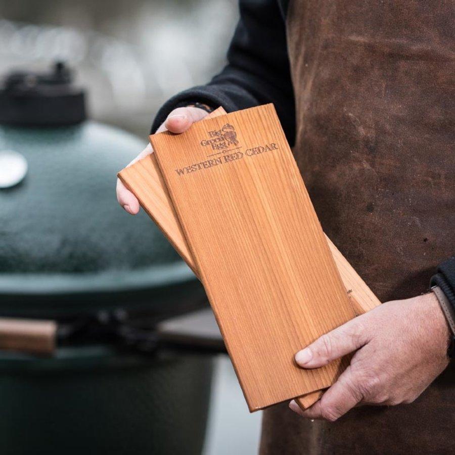 Wooden Grilling Planks Ceder 28cm /2 BGE-1