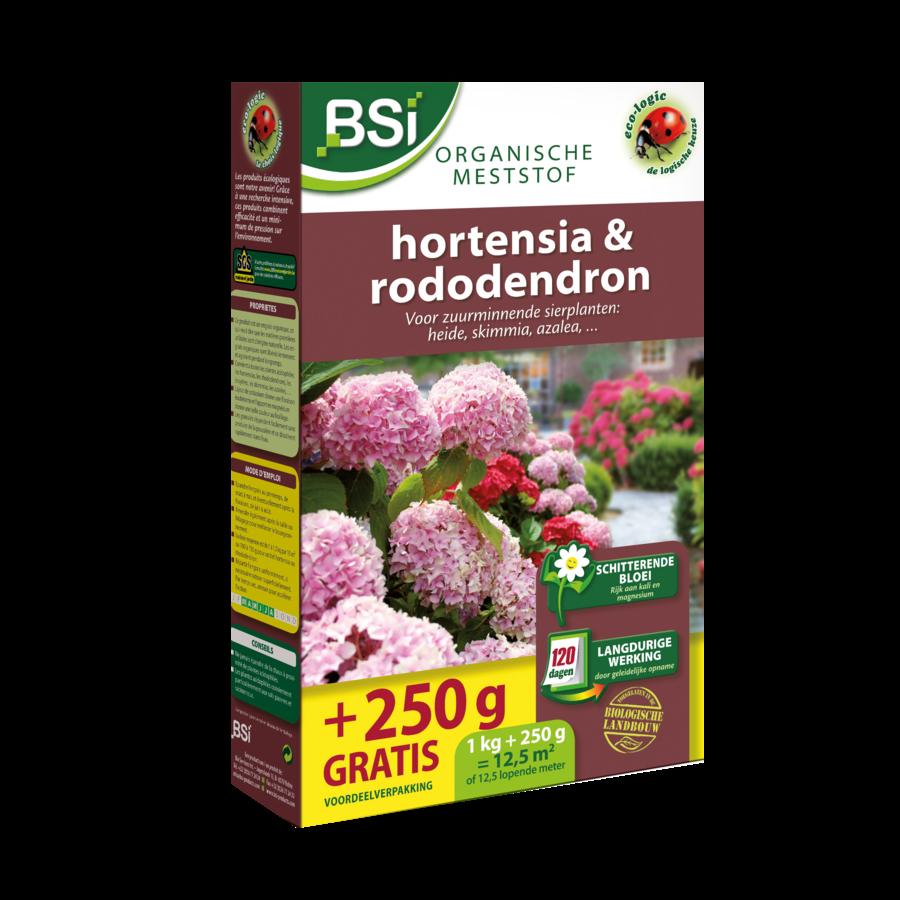 Bio meststof hortensia en rododendron 1.25kg-1