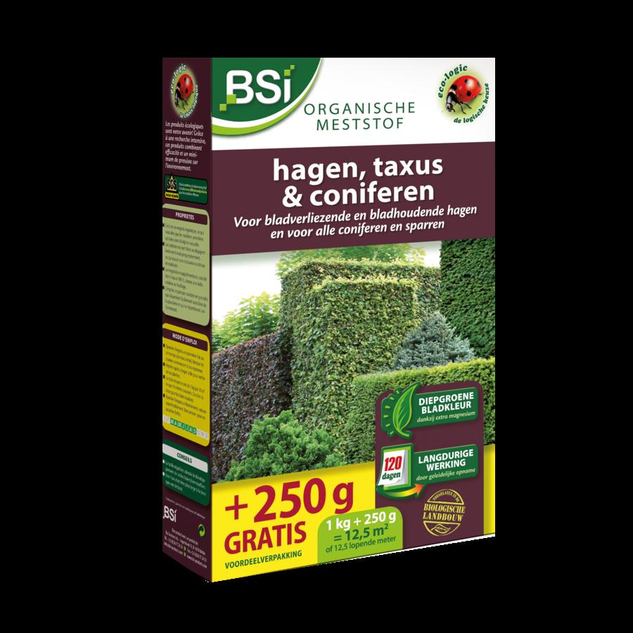 Bio meststof hagen, taxus en coniferen 1.25kg-1