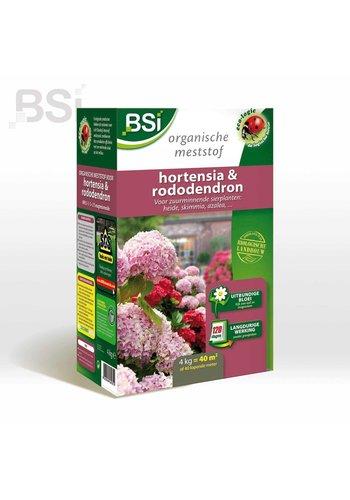 BSI Bio meststof hortensia en rododendron 4kg