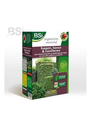 BSI Bio meststof hagen, taxus en coniferen 4kg