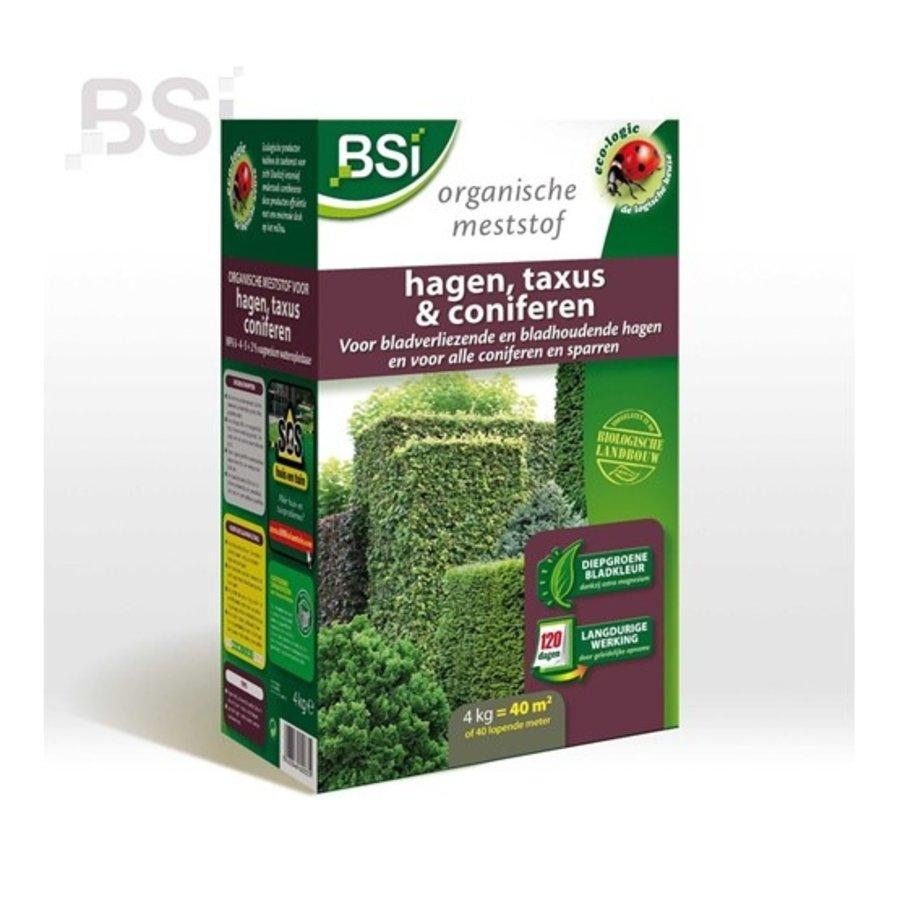 Bio meststof hagen, taxus en coniferen 4kg-1