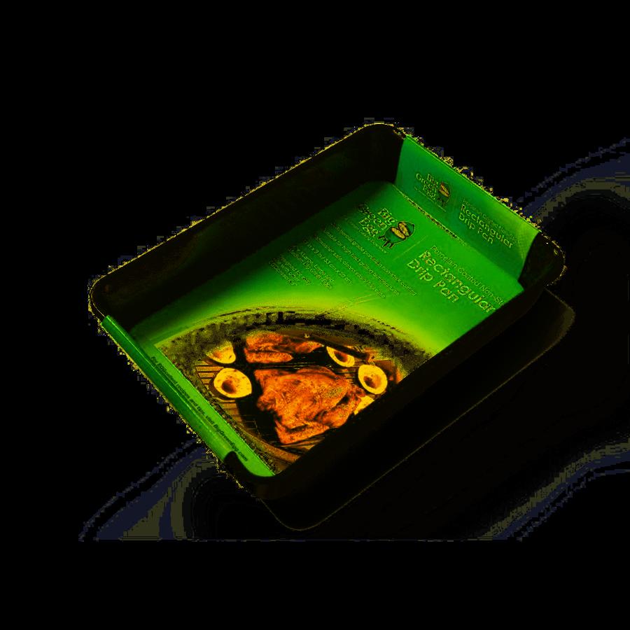 Drip Pan rechthoekig 35x26cm BGE-1