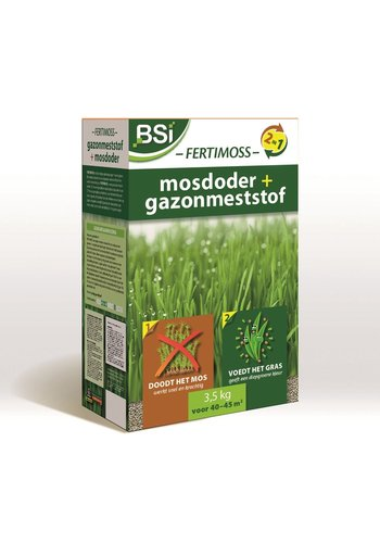 BSI Fertimoss gazonmeststof + mosdoder