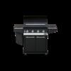 Boretti Ibrido gas/houtskool barbecue