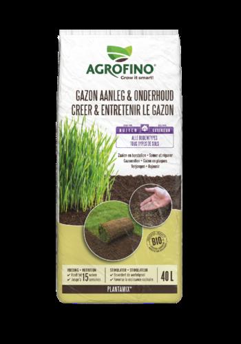 Agrofino Potgrond plantamix gazon aanleg en onderhoud 40L