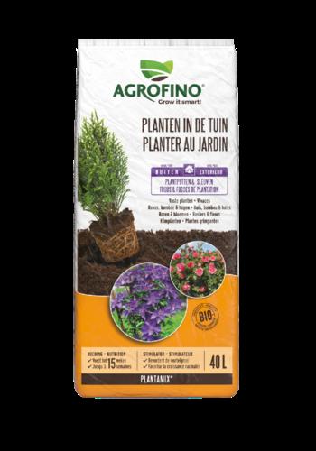 Agrofino Potgrond plantamix planten in de tuin 40L