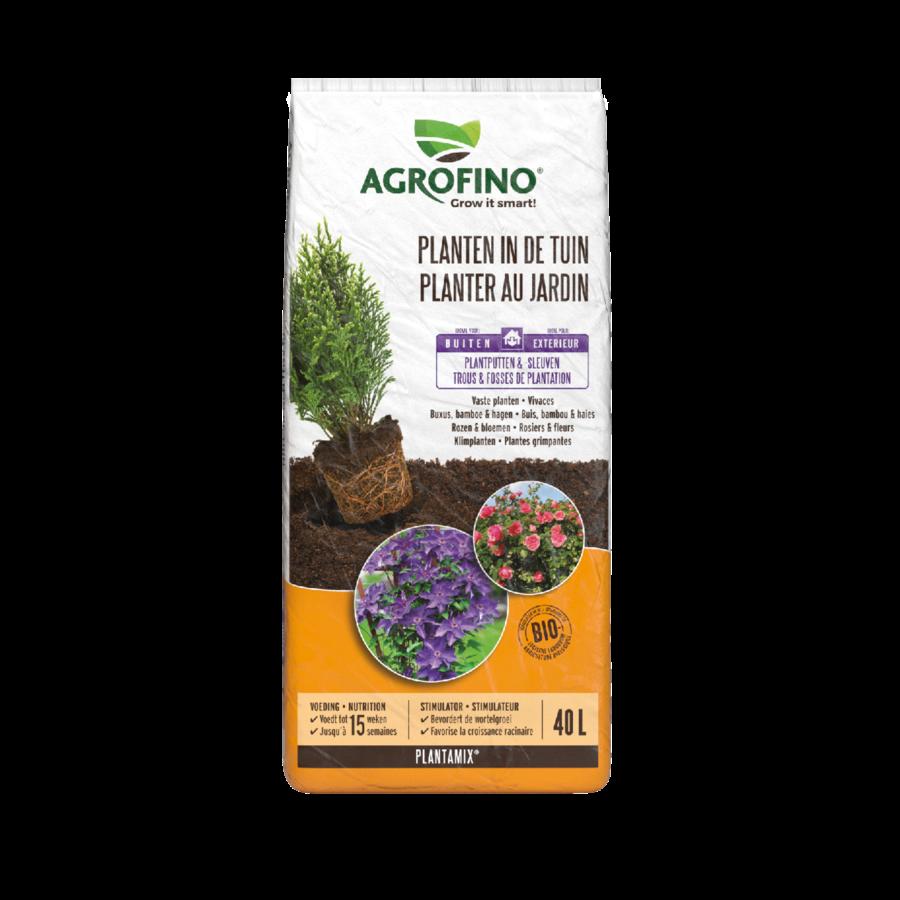 Potgrond plantamix planten in de tuin 40L-1