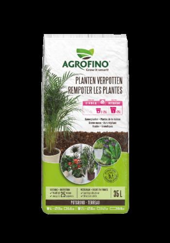 Agrofino Potgrond planten verpotten >5L   35L