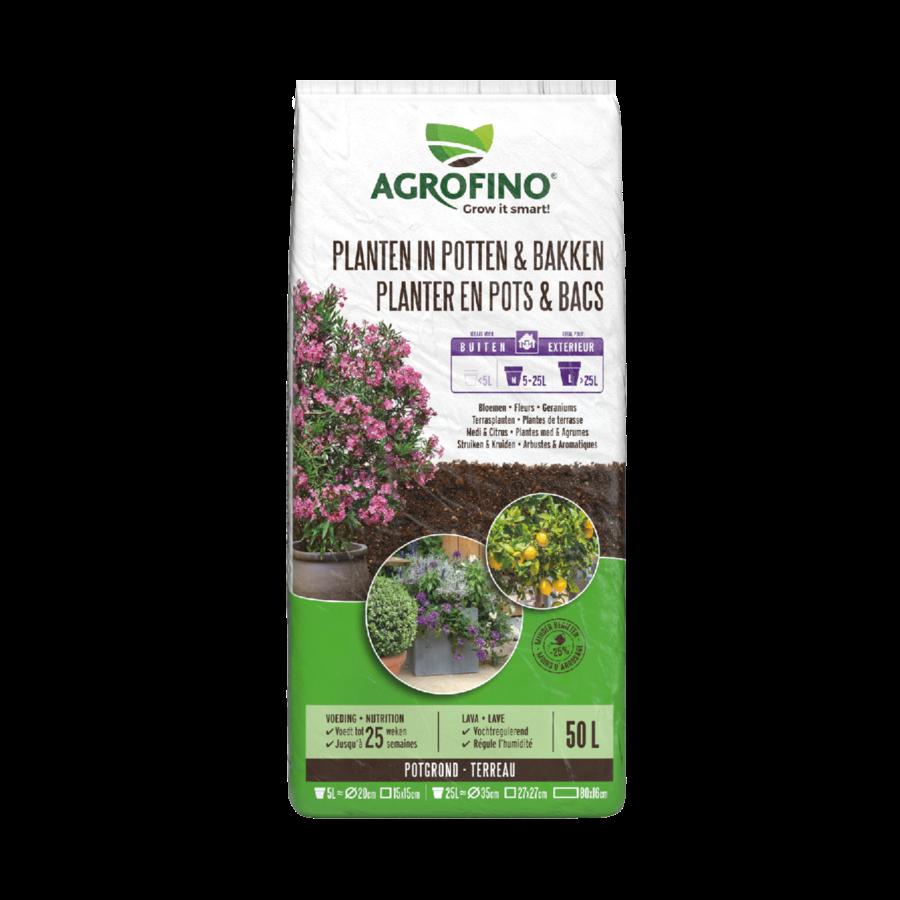Potgrond planten in potten en bakken >5L   50L-1