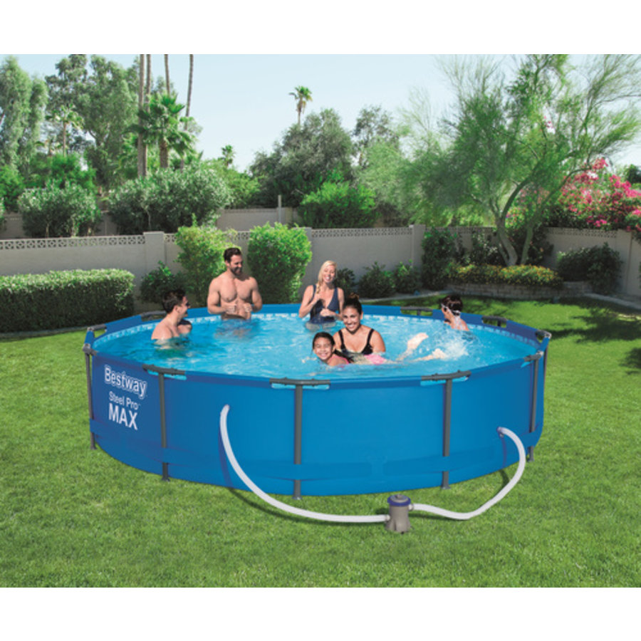 Zwembad Steel Pro Max  Frame Pool Set 3.66x76cm-1