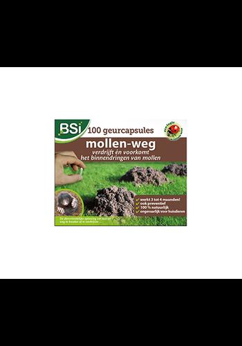 BSI Mollen-weg geurcapsules, 100 stuks