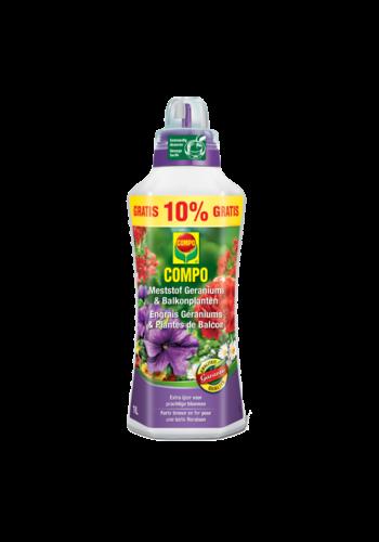 Compo Vloeibare meststof voor geraniums en balkonplanten 1L