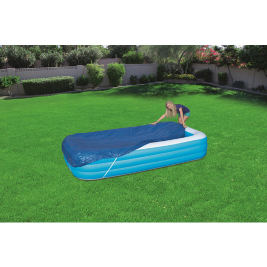 Afdekzeil Voor Family Zwembad 305x183x56cm-1