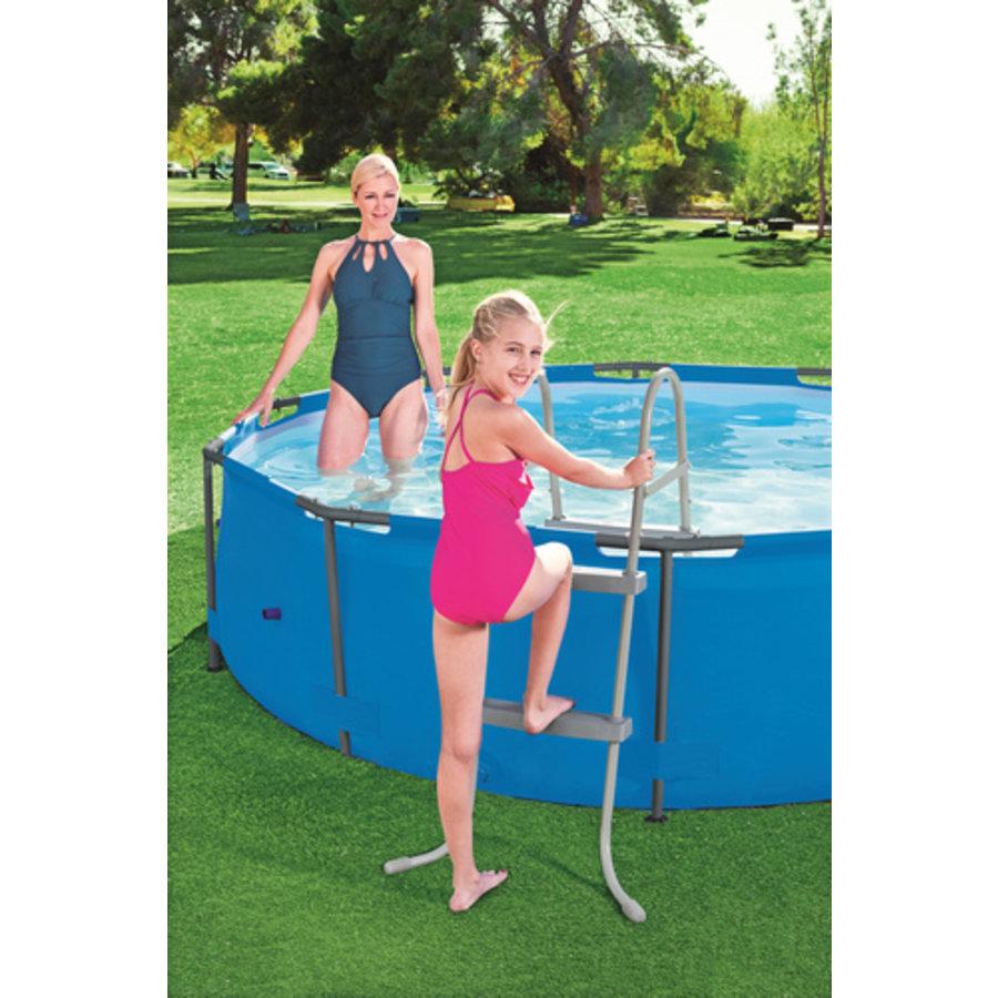 Zwembadladder 84cm-1
