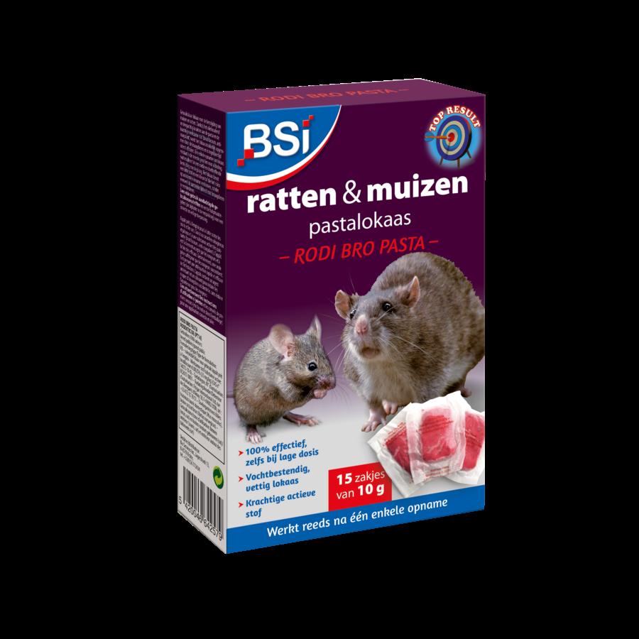 Rodi Bro ratten en muizen pastalokaas 150gr (15x10gr)-1