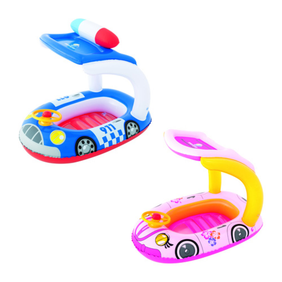 Kinderbootje Auto UV 98cmx66cm-1