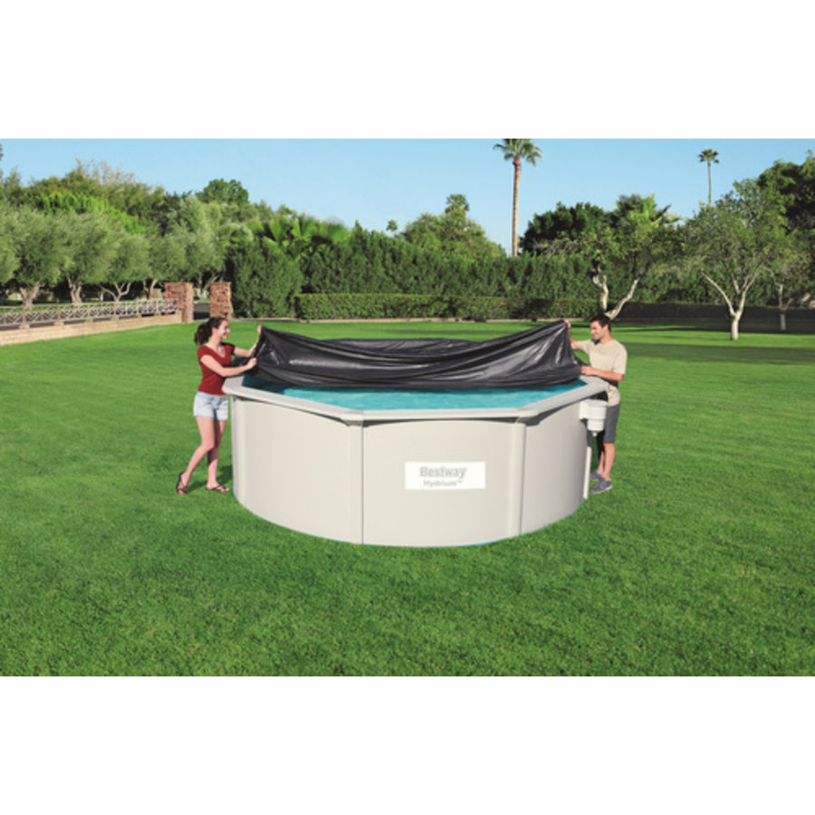 Afdekzeil  Hydrium Pool Rond  Dia. 360cm-2