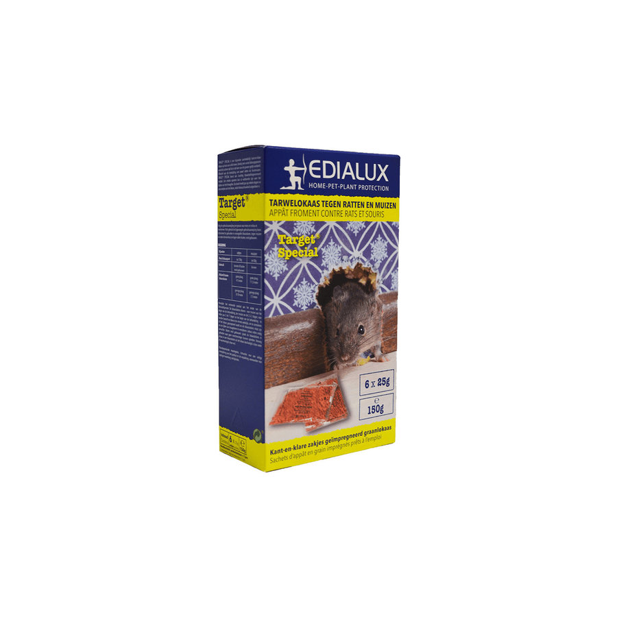 Target Special tarwelokaas tegen ratten en muizen-1