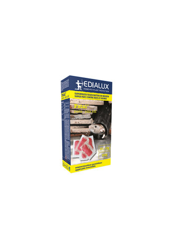 Edialux Fatal pastalokaas tegen ratten en muizen