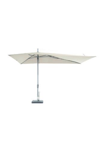 Madison Asymmetrische parasol Sideway 360x220cm