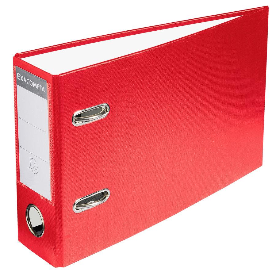 Ordner PVC , 70mm, A5, rood-1