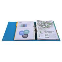 thumb-Ordner Prem'touch, 50mm, A4 maxi, blauw-3