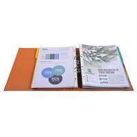 thumb-Ordner Prem'touch, 50mm, A4 maxi, oranje-3