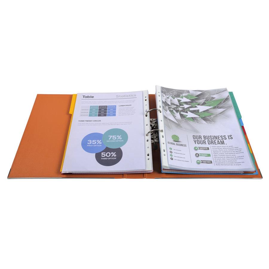 Ordner Prem'touch, 50mm, A4 maxi, oranje-3